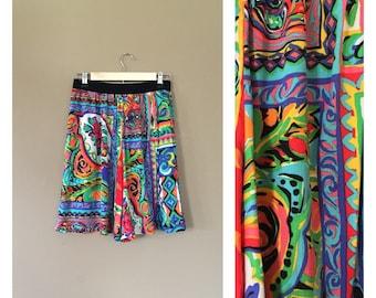 90s High Waisted Shorts / 90s Cotton Shorts / 90s hip hop clothing / Womens Shorts / High Waisted Shorts / 90s clothing / 90s shorts