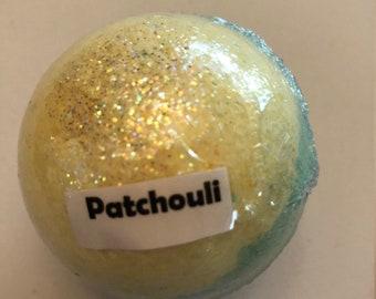 Patchouli Bath Bomb,  Bath Cube, Bath Salts, Bath Oils, Bath Pearls, Bath Bomb, Bath Fizzie, Bath Products, Bath Fizzy
