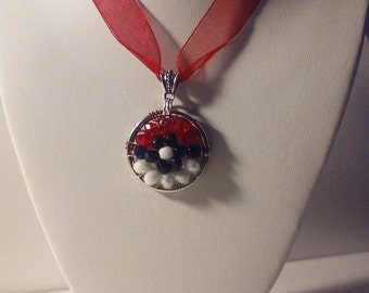 Pokemon Go! Pokeball Necklace