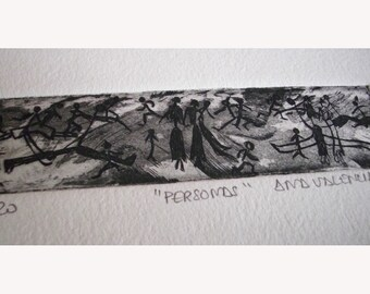 """Etching """"People"""""""
