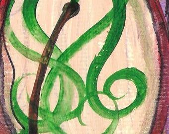 No. 20031 ACEO Art Cards Editions & Originals Fantasy Landscape by NoRaHzArT