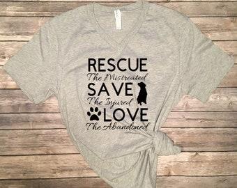 Rescue Save Love Shirt