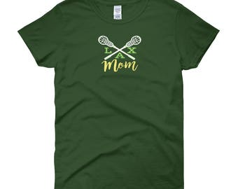 LAX Mom Lacrosse Women's short sleeve t-shirt