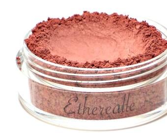 "Matte Raspberry Pink Blush - ""Raspberry Tart"" (deep raspberry pink mineral blush, Net Wt 4.5g jar) - Vegan"