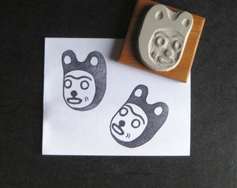 Little Bear - Hand-Carved Stamp