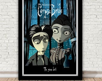 Tim Burton (& Danny Elfman)'s The Corpse Bride -The Piano Duet - print