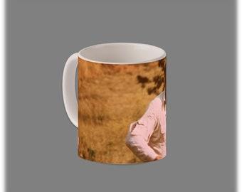 The Six Million Dollar Man Coffee Cup #1090
