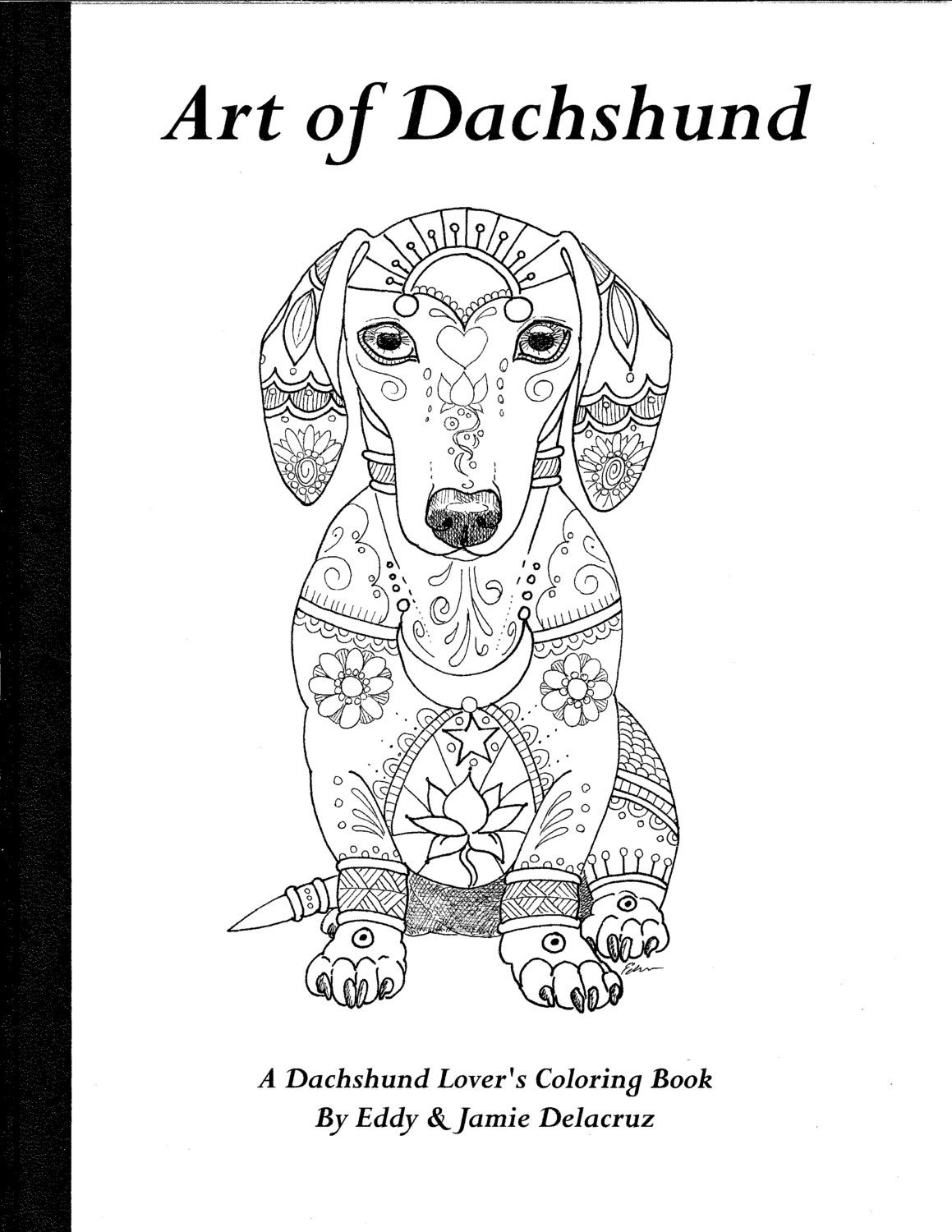 Favorite Dogs Coloring Book Zoom