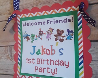 Muppet Babies Door Sign