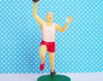 Basketball Figur Cake Topper Vintage