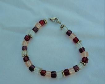 Multi Color Red Bracelet