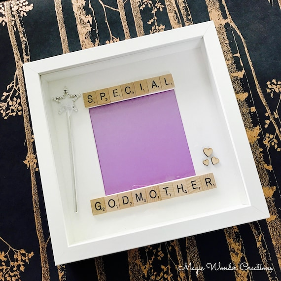 Beautiful Godmother Frame Personalised Godmother Gift