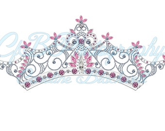 7 Princess Crowns Png.files Instant Download