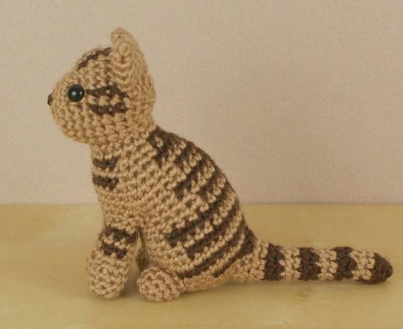 Pdf Amicats Tabby Cat Amigurumi Cat Crochet Pattern