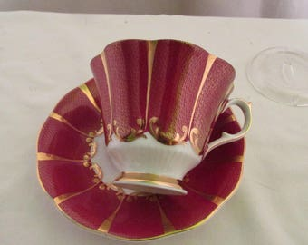 VintageQueen Anne Tea Cup and Saucer