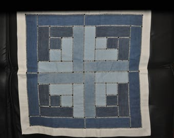 Jeans Patchwork Table Cloth