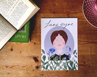 Jane Eyre A5 print