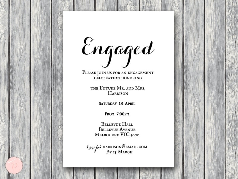engage invitation