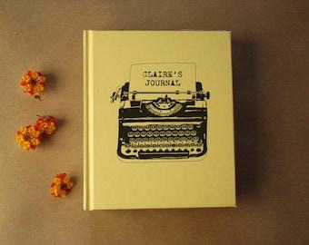 Custom Blank Journal · Writing Journal · Personalized Diary · Gift for Writers · Writer's Journal · Custom Notebook· Custom Diary Keepsake