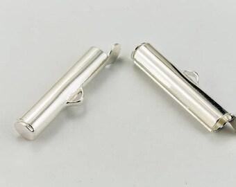 30mm Bright Silver Slide Tube #MFB114