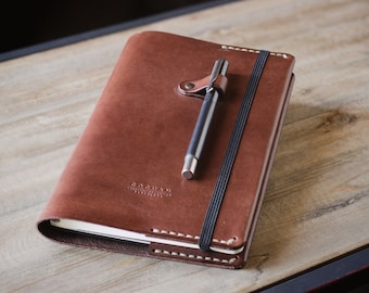 Leather Moleskine cover, Lether cover, Leather sleeve