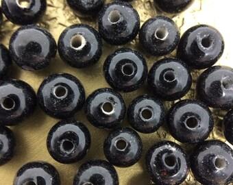 Loose Onyx Beads, Onyx Beads, Gemstone Beads, Wholesale #0838