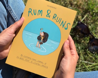Rum & Ruins - An illustrated travel journal from Central America