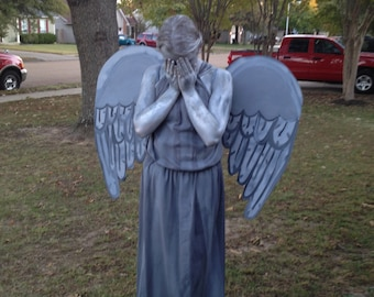 Doctor Who Weeping Angel Statue Costume Handmade Inspired ...
