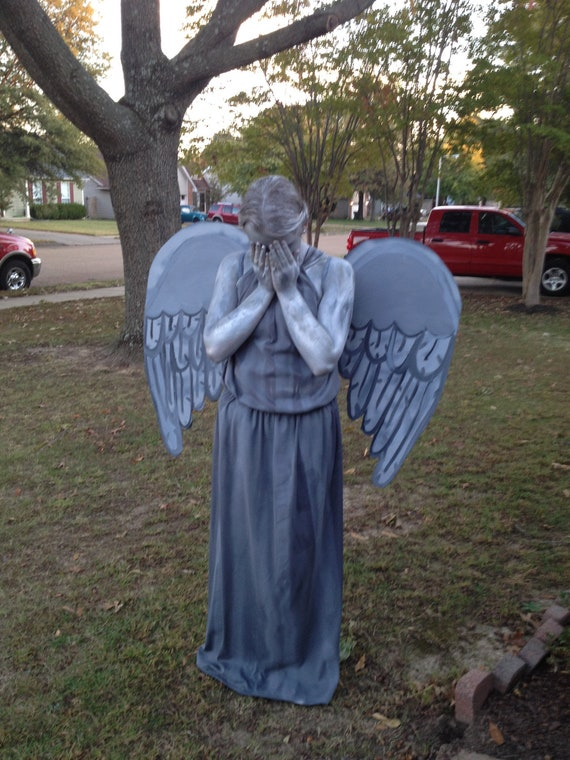 Doctor Who Weeping Angel Statue Costume Handmade Inspired
