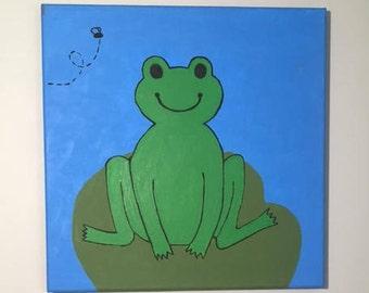 Children's Frog Painting