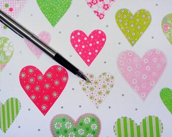 TINA Gift Paper - Pretty Hearts