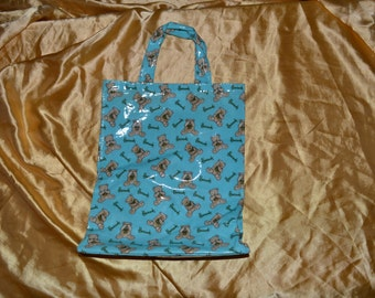 Vintage Harrods Teddy Bear Tote Bag