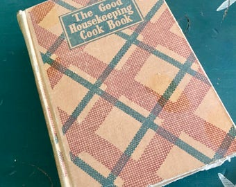 Good Housekeeping 1943 Cookbook Complete But In Poor Condition