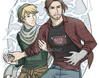 Stucky Vampires and Magic (Limited Print)