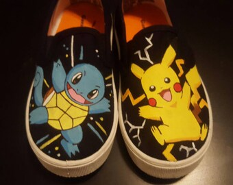 Custom Pokemon shoes (Childrens)