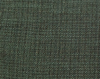 Teal Woven - Upholstery Fabric by the Yard  - Fast Shipping
