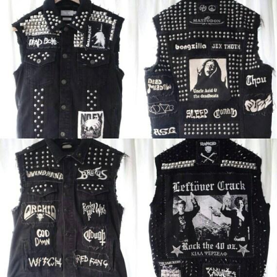 Custom Order Punk Metal Battle Jackets MuifcIlMK