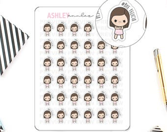 Bye Felicia - Angry Doodle Girl - Kawaii Planner Stickers