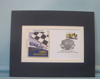 Honoring the Indianapolis 500 & First day Cover in honor of the Indy 500 Race