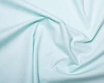 Mint plain cotton  Fabric