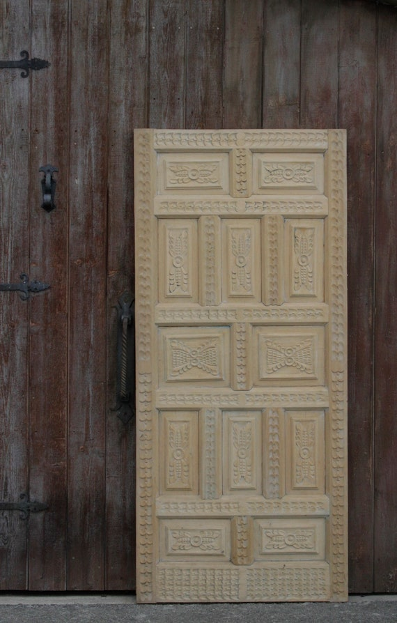Reserved For Veena; Cuzco Handcarved Peruvian Door, Old Door Spanish Door  Interior Door Rustic Door Entrance, Indian Door , Moroccan Door From  DeCorPasadena ...