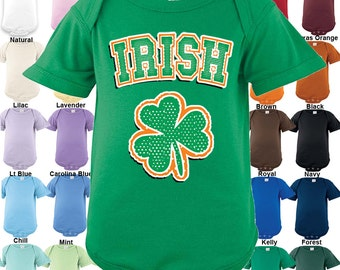 Irish - Shamrock - Bodysuit - Boys / Girls / St. Patrick's Day