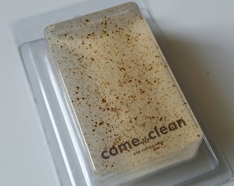 Speckled Horchata Vanilla Cinnamon Glycerin Soap Bar