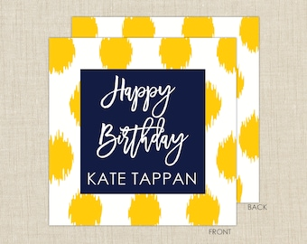 Gift enclosure cards with envelopes. Ikat Gift Enclosure Card