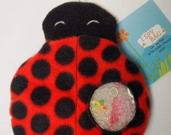 I Spy Bag - Ladybug - Find it Game