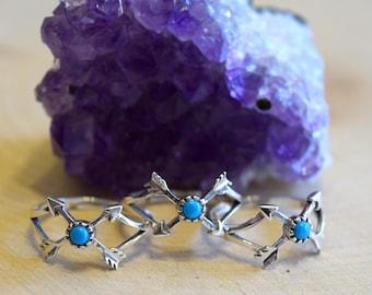 Adjustable Boho Rings / Boho Rings / Boho Ring / Sterling Silver Rings / Sterling Silver Ring / Stackable Ring Set / Stacking Ring Set