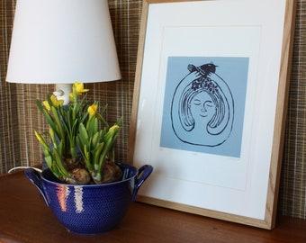Spring silkscreen print