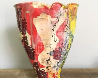 Graffitiware Pinup Vase