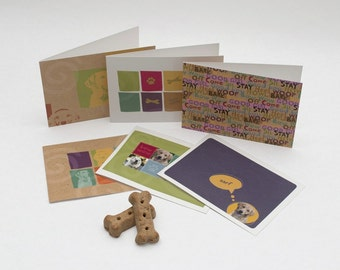 1 set of 6 assorted 6x4.25 greeting cards