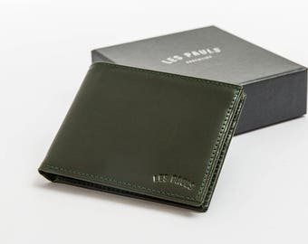 Leather Wallet / Green
